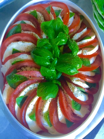 Tomato and Mozzarella