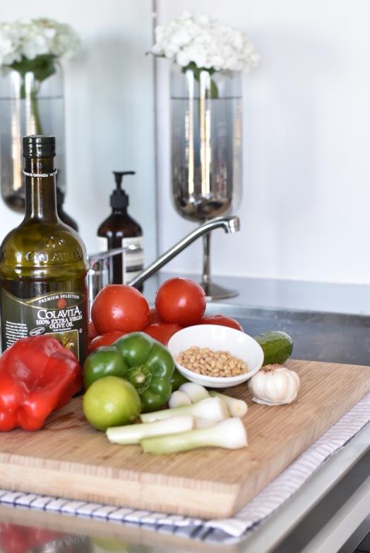 Gazpacho soup recipe Sydney food blogger b