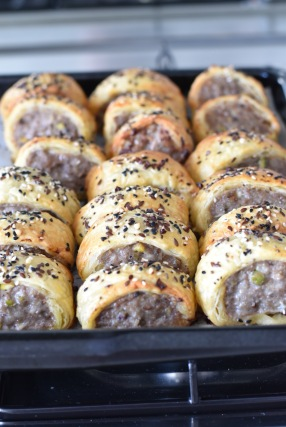 home made sausage roll recipe