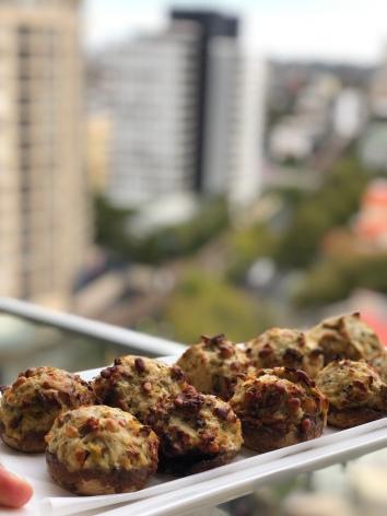 stuffed mushroom recipe - sydney blogger
