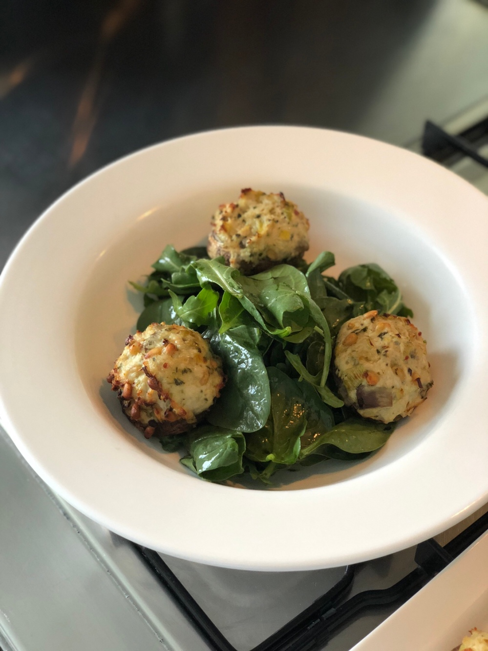 stuffed mushroom recipe - sydney blogger