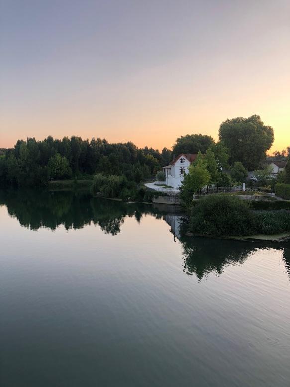 La rivière Charente, Cognac