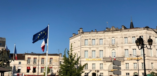 cognac city france